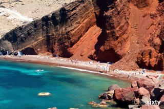 The best Santorini beaches Kima Villas Red Beach is one of the most famous beaches on Santorini because of its red colour