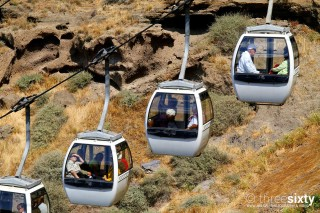 The best things to do in Santorini Kima Villas activities with a cablecar