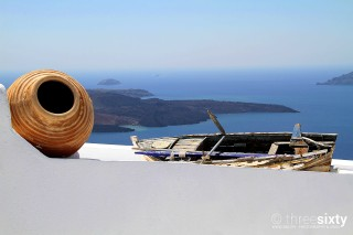 The magical Santorini island in Greece Kima Villas Aegean Sea View
