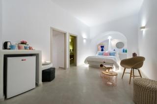 luxurious santorini suites kima villa kitchen